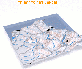 3d view of Tnine de Sidi el Yamani