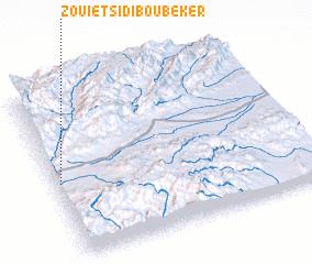 3d view of Zouiet Sidi Bou Beker