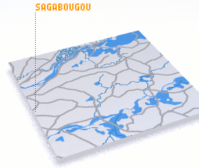 3d view of Sagabougou