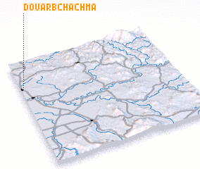3d view of Douar Bchachma