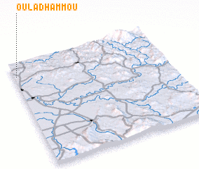 3d view of Oulad Hammou