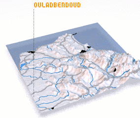 3d view of Oulad Ben Doud