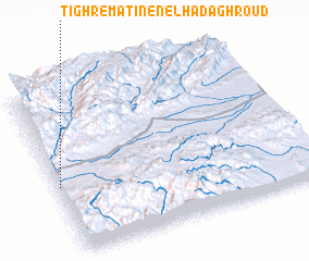 3d view of Tighrematine n'el Had Aghroud