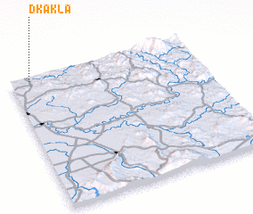 3d view of Dkakla