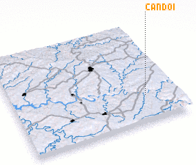 3d view of Candói