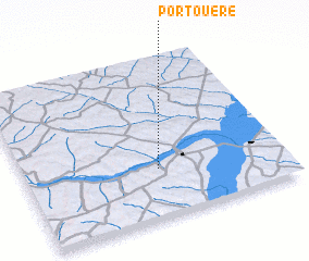 3d view of Pôrto Uerê