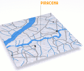 3d view of Piracema