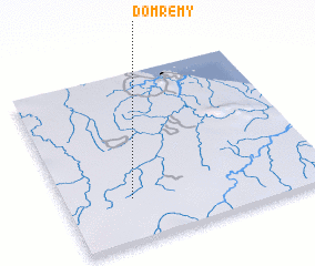 3d view of Domrémy