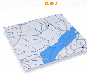3d view of Romão