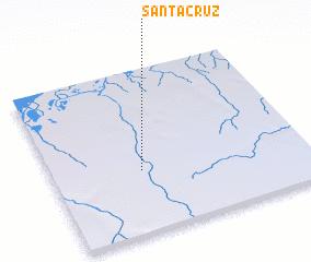 3d view of Santa Cruz
