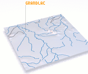 3d view of Grand Lac