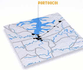 3d view of Pôrto Ocoí