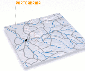 3d view of Pôrto Arraia