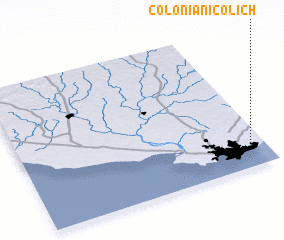 Colonia Nicolich Uruguay Map Nona Net