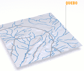 3d view of Quebó
