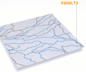 3d view of Pau Alto