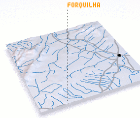 3d view of Forquilha
