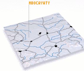 3d view of Mbocayaty