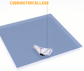 3d view of Codrington College