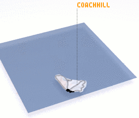 3d view of Coach Hill