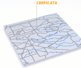3d view of Campo Lata