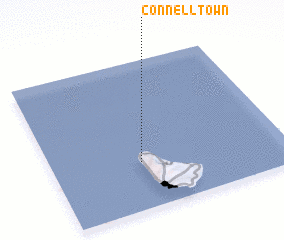 3d view of Connell Town