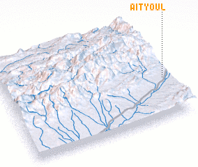3d view of Aït Youl