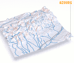 3d view of Azourg