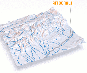 3d view of Aït Ben Ali