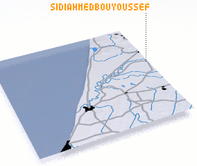 3d view of Sidi Ahmed bou Youssef