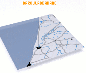 3d view of Dar Oulad Dahane