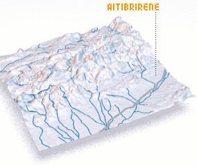 3d view of Aït Ibrirene