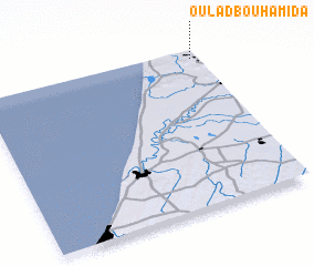 3d view of Oulad Bouhamida