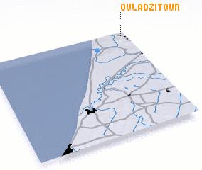 3d view of Oulad Zitoun