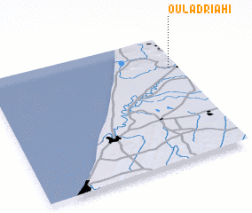 3d view of Oulad Riahi