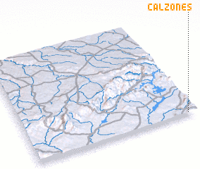 3d view of Calzones