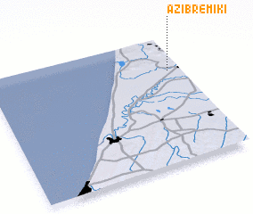 3d view of Azib Remiki