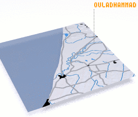 3d view of Oulad Hammad