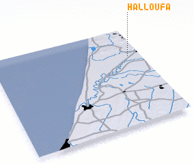 3d view of Halloufa