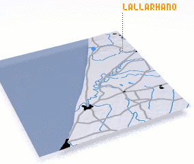 3d view of Lalla Rhano