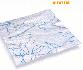 3d view of Aït Attou