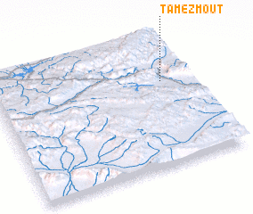 3d view of Tamezmout