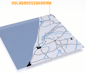 3d view of Oulad Moussa Korima