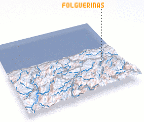 3d view of Folguerinas