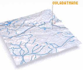 3d view of Oulad Atmane