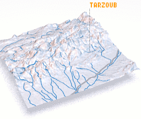 3d view of Tarzoub