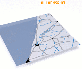 3d view of Oulad Msahel