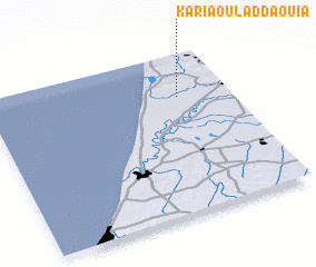 3d view of Karia Oulad Daouia