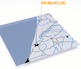 3d view of Oulad Jellâl