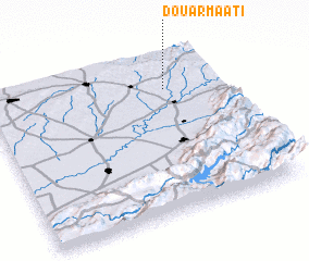 3d view of Douar Maati